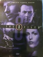 The X-Files - The Complete Eighth Season (DVD, 6-Disc Set, Repackaged Full Frame