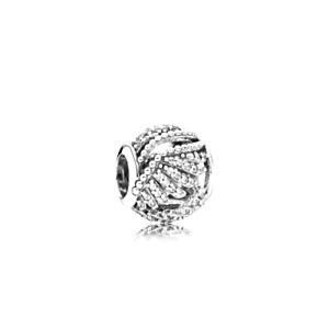 Authentic Pandora Shimmering Phoenix Feather Silver 925 ALE Charm 791749CZ