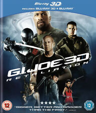 GI Joe - Retaliation 3D+2D Blu-Ray