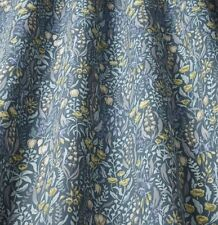 iliv Kelmscott/Prussian (William Morris Style) Curtain/Upholstery Fabric