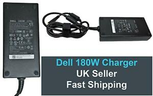 Dell Original 180W AC Charger for Precision / Alienware, HA180PM180, 03XYY8, VAT