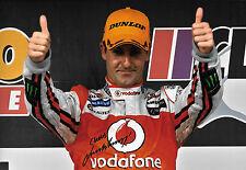 Jamie P.A.E. signé 12x8, Australian V8 usage multipile champion