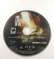 The Last of Us Sony Playstation 3 PS3 Game Disc Only Pre Owned Working Great