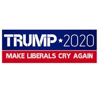 Trump Make Liberals Cry Again 2020 Donald Decal Bumper Window Car Sticker USA