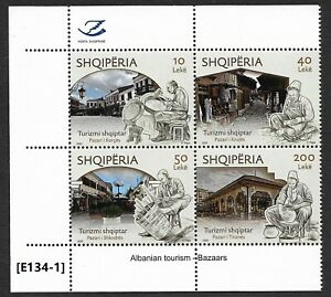 [E134-1] Albanian tourism 2020 - Bazaars  New issue. MNH