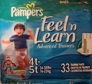 Vintage Pampers Diapers (2005)