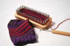 "Kb authentic knitting board Sock Loom 52 Peg 7""X3"" adult Kb4420"