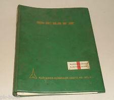 Werkstatthandbuch Deutz Motor F6 / F8 L 312 luftgekühlt, Stand 1968