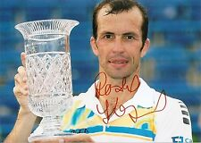 Radek Stepanek Czech Republic Tennis 5x7 Photo Signed Auto