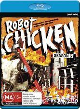 Robot Chicken : Season 6 (Blu-ray, 2013) Brand New & Sealed  - Free Postage (D11