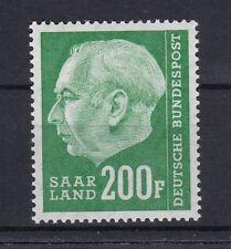 Deutsche Briefmarken des Saarland (1947-1959) aus Einzelmarke und Danzig, Memel, Saar mit Postfrisch