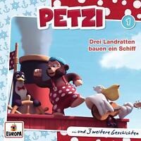PETZI - 001/DREI LANDRATTEN BAUEN EIN SCHIFF   CD NEW