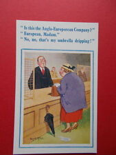 Donald McGill Unposted Collectable Artist Signed Postcards
