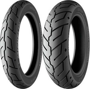 MICHELIN SCORCHER 31 180/65-16 & 130/90-16 TYRE PAIR HARLEY ROAD KING FLHRC