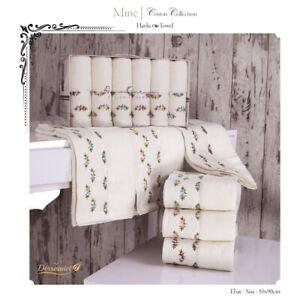 Towel Set Mine 6er Collection Bamboo Exclusive Havlu Seti Gift Box