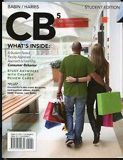 Consumer Behavior CB5 Student Edition LIKE NEW