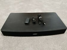 Bose Solo 10 TVSound System Black w Remote Control and Optical Cable