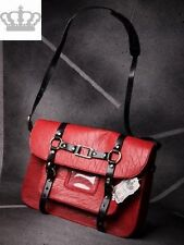 Retro Messenger Bag in Rot  Design by LYDC 18