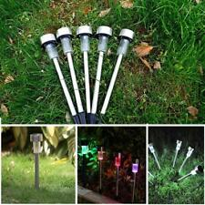 LED Solar Outdoor Path Light Spot Lamp Yard Garden Landscape Stainless Steel pre