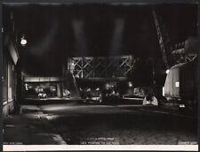 """""""Les Portes de la nuit"""" Photographe Aldo. Marcel Carné. Prévert. 1946"""