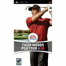 Tiger Woods PGA Tour 08 Sony By Electronic Arts For PSP UMD Golf With Manual 8D
