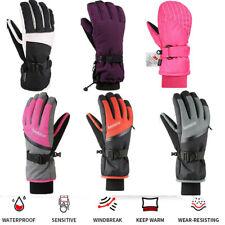 Skihandschuhe Herren Damen Ski Handschuhe Wasserdicht 3M CV