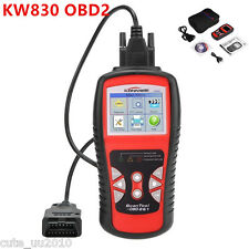 AL519 CAN Car Auto OBD2/EOBD OBDII Diagnostic Scan Tool Fault Code Reader KW830