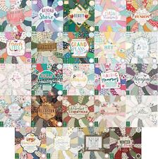 Dovecraft First Edition scrapbooking paper 6x6, Full Packs