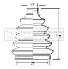 First Line Driveshaft Bellow CV Joint Boot Kit FCB2346 - 5 YEAR WARRANTY