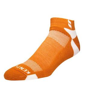 Kentwool Mens Classic Ankle Golf Socks - Burnt Orange - Size XL