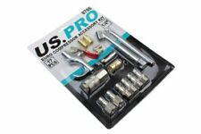 US Pro 17pc EURO Air Compressor Accessory Kit Air Blow Gun Connectors B8786