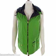 Lauren Ralph Vest Lauren Reversible Hoodie Size 38 Bust Green Blue