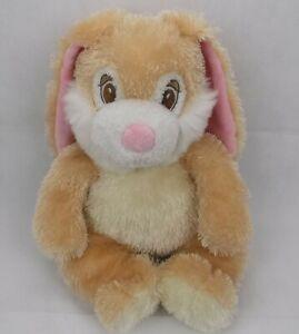 "Princess Soft Toys 2004 Bunny Rabbit Tan Pink White 14"" Plush Stuffed Animal Toy"