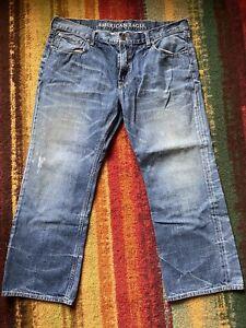 AMERICAN EAGLE Men's BOOTCUT Jeans 40x30 Medium wash Clean