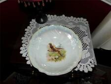 Vintage Retsch & Co. RCW Bavaria Germany Fine Porcelain Bird Lusterware Bowl