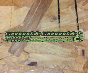 Cannondale Vinyl Custom Decals Stickers Bike Frame Kit Replacement Protective