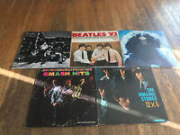 Classic Rock 5 Cover Lot - Allmans, Beatles, Dylan, Hendrix, Stones - No RECORDS