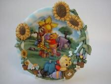 DISNEY BRADEX WINNIE THE POOH SEET DREAMS GROW WITH FRIENDS 3D  PLATE