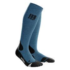 CEP Women's Compression Outdoor Merino Socks Desert Sky/Black IV
