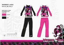 12 ANS NOIR * pyjama Long Monster High 100% coton * NEUF l'unité