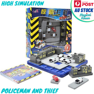 Interception Toy for Kids Brain Teaser Puzzle Games Police & Thief Car Game