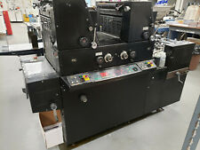 Ryobi 2 color printing press 3985 9985 Ab Dick Itek in power and operational