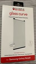 New ZAGG Glass Curve Impact & Scratch Protection for Samsung Galaxy Note 8