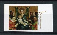 Germany 2017 MNH Christmas Nativity Paintings S.P. Sporthilfe 1v S/A Art Stamps