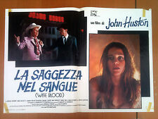 LA SAGGEZZA NEL SANGUE fotobusta poster Wise Blood Brad Dourif John Huston AF34