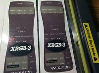 XRGB 3 English Remote Translation Overlay