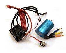 Redcat Hobbywing WP-10BL60 60A Brushless ESC Deans 3800KV Motor Combo Blackout