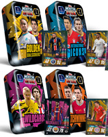 2020/21 Match Attax UEFA - All 4 Mega Tins - 200 soccer cards inc 4 limited