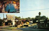Postcard Log Cabin Motel, Swimming Pool in Phoenix, Arizona~123853