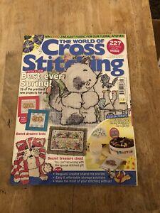 the world of cross stitching magazine Issue 149 Inc Free Gift